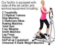 State-of-the-Art Cardio and Workout Equipment